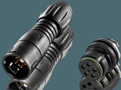 Miniature Snap-in IP67 Connectors