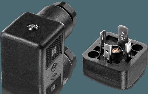 Actuatorics Solenoid valve connectors