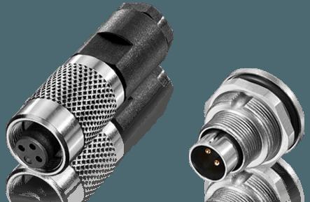 Subminiature M9 IP67 Connectors
