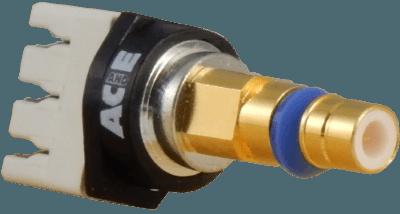 HDC43(M), DDF plug, blue snap ring