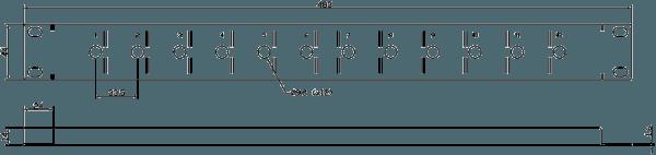 E841 Line Drawing