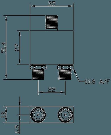 E887-877 Line Drawing