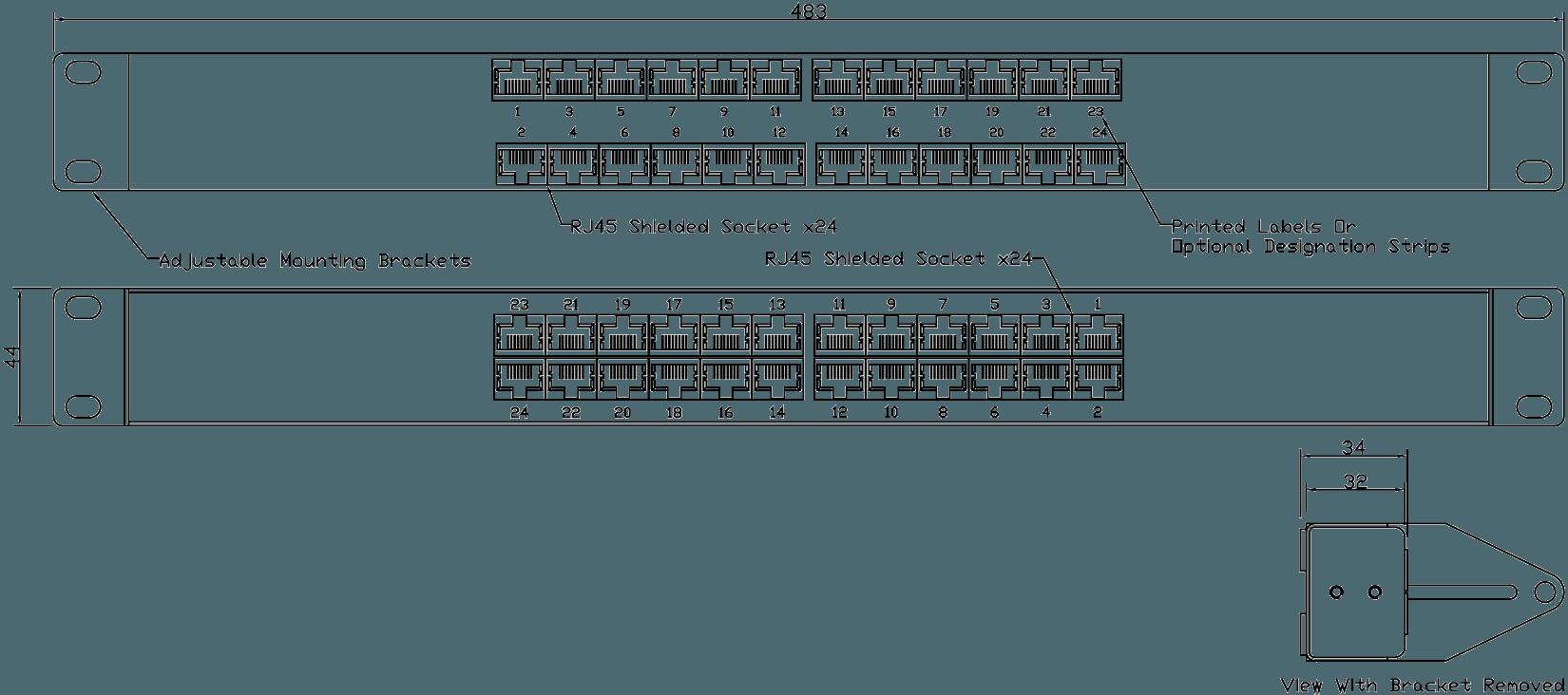 PA05E0524 Line Drawing